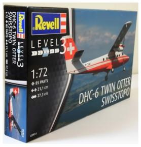 REVELL 03954 Samolot transportowy Dhc-6 Twin Otter Swisstopo