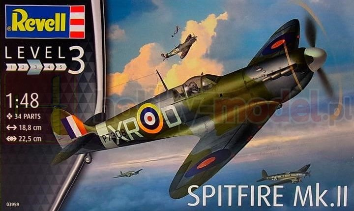 REVELL 03959 Myśliwiec Supermarine Spitfire Mk.II