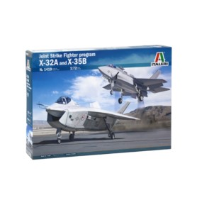 ITALERI 1419 Samolot JSF Program: X-32 and X-35B