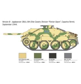 ITALERI 15767 Czołg Jagdpanzer 38(t) Hetzer