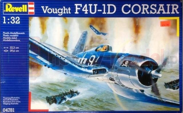 REVELL 04781 Myśliwiec F4U-1A Corsair