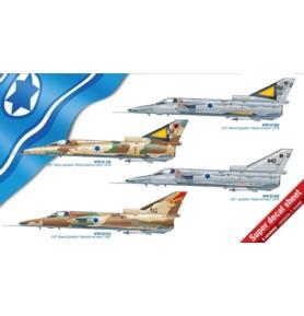 ITALERI 2688 Myśliwiec Kfir C1/C2