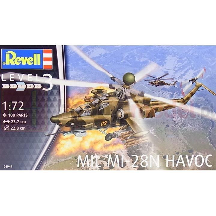 REVELL 04944 Śmigłowiec szturmowy Mil Mi-28N Havoc