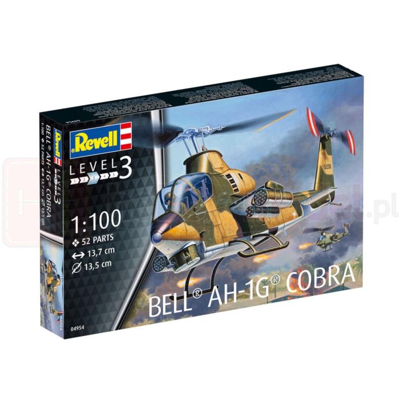 REVELL 04954 Śmigłowiec szturmowy Bell AH-1G Cobra
