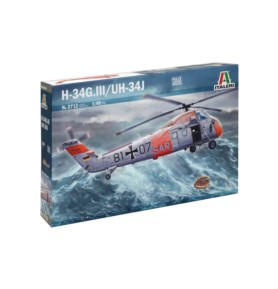 ITALERI 2712 Śmigłowiec H-34G / UH-34J