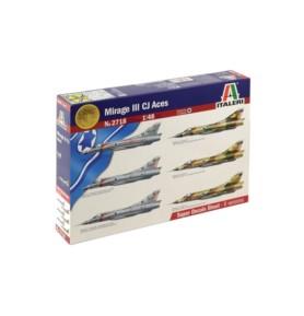 ITALERI 2718 Samolot Mirage lll CJ Aces
