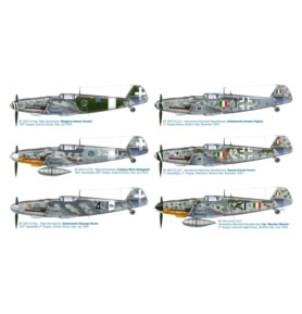 ITALERI 2719 Myśliwiec Bf 109 G-6 ''Italian Aces''