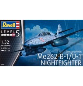 REVELL 04995 Myśliwiec odrzutowy Messerschmitt Me-262B-1