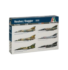 ITALERI 2721 Myśliwiec Nesher/Dagger