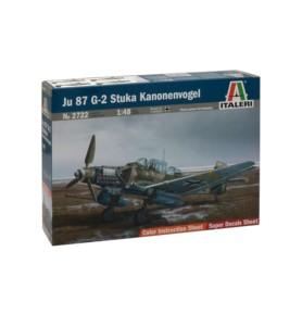 ITALERI 2722 Bombowiec JU 87 G-2 Stuka Kanonenvogel