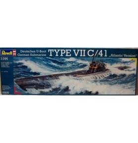 REVELL 05100 Okręt podwodny Type VII C/41