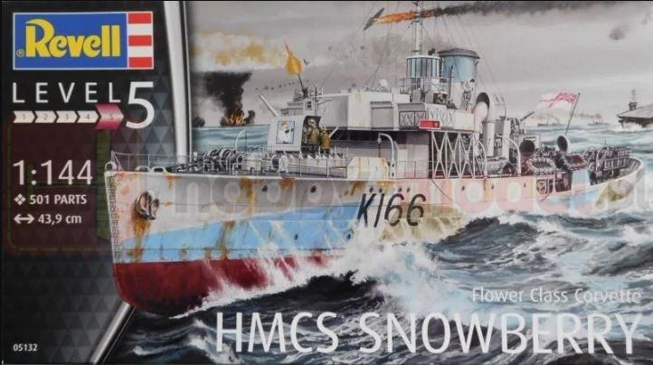 REVELL 05132 Korweta HMCS Snowberry
