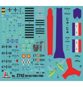 ITALERI 2742 Śmigłowiec Bo 105 / PAH.1