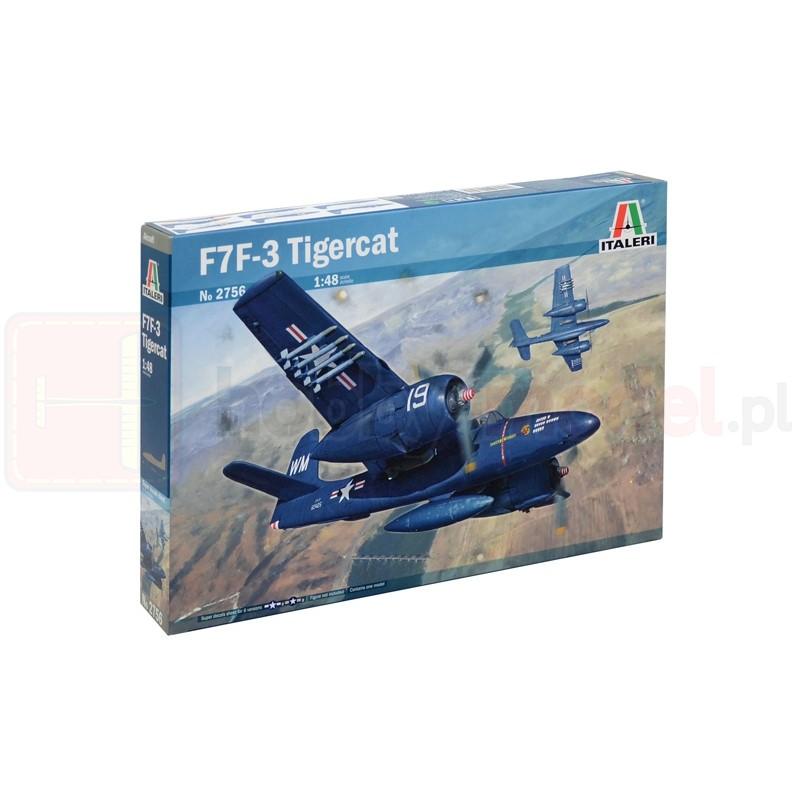 ITALERI 2756 Myśliwiec F7F-3 Tigercat