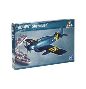 ITALERI 2757 Samolot szturmowy AD-4W Skyraider