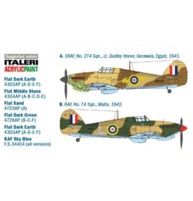 ITALERI 2768 Myśliwiec Hurricane Mk.I