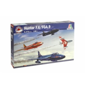 ITALERI 2772 Myśliwiec Hunter F.6/FGA.9 Aerobatic Team