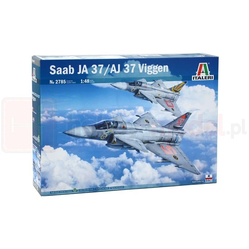 ITALERI 2785 Myśliwiec Saab JA 37/AJ 37 Viggen