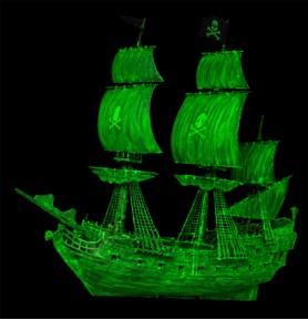 REVELL 05435 Statek widmo (świecący w ciemności)