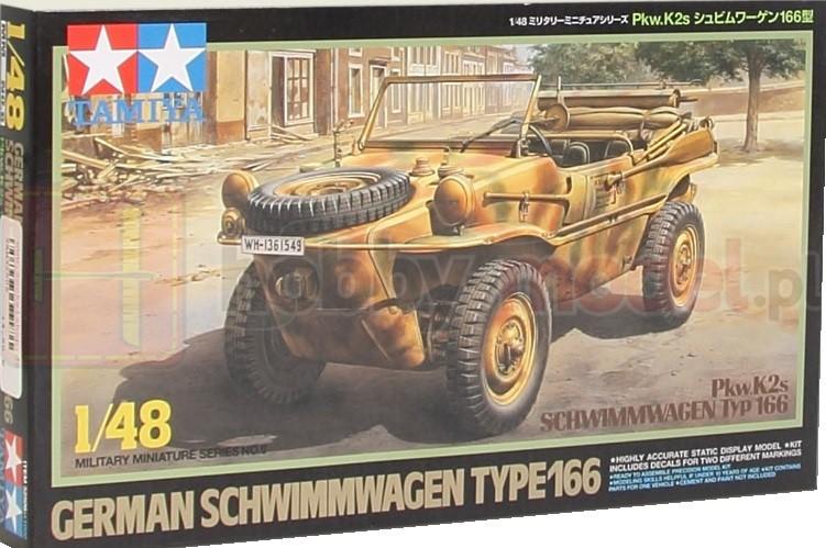 TAMIYA 32506 Samochód osobowo-terenowy Schwimmwagen typ 166