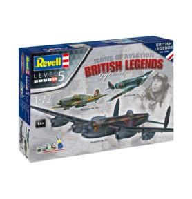 REVELL 05696 Zestaw 3 samolotów - Flying Legend