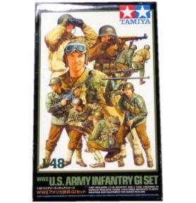TAMIYA 32513 Figurki piechoty amerykańskiej