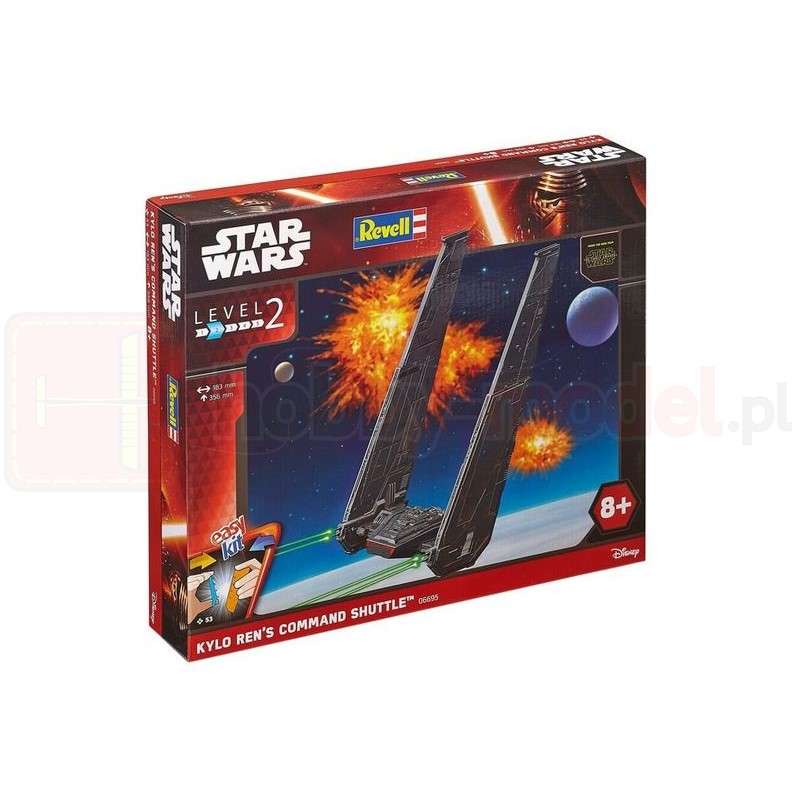 REVELL 06695 Star Wars Kylo Ren'S Command Shuttle