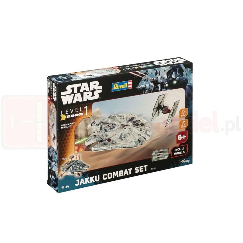 REVELL 06758 Zestaw 2 statków kosmicznych Star Wars Jakku Combat (dla dzieci)