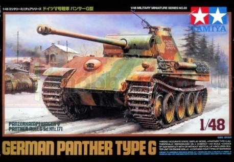 TAMIYA 32520 Czołg niemiecki Panther G SD.Kfz 171