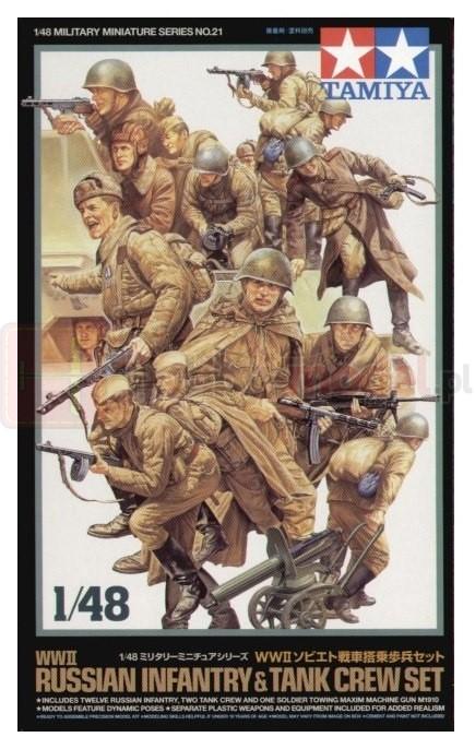 TAMIYA 32521 Radziecka piechota + załoga czołgu