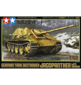 TAMIYA 32522 Niemiecki niszczyciel czołgów Jagdpanther (późna wersja)