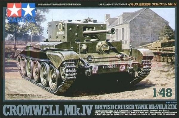 TAMIYA 32528 Brytyjski czołg Cromwell Mk. IV