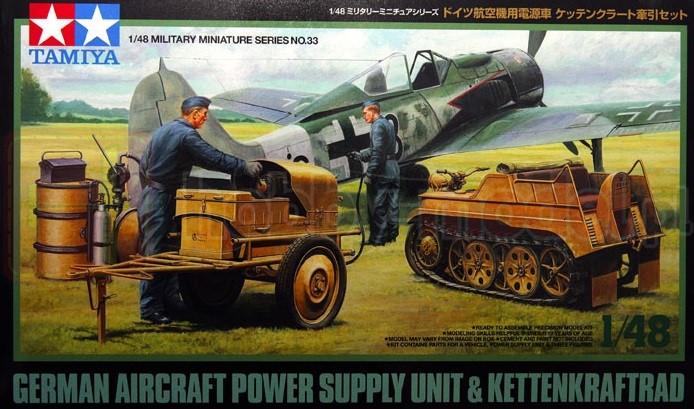 TAMIYA 32533 Urządzenie rozruchowe do niemieckich samolotów