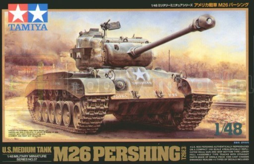 TAMIYA 32537 Czołg amerykański M26 Pershing