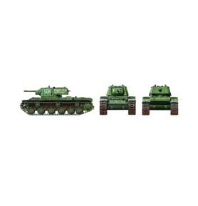 TAMIYA 32545 Rosyjski czołg KV-1B (dodatkowy pancerz)