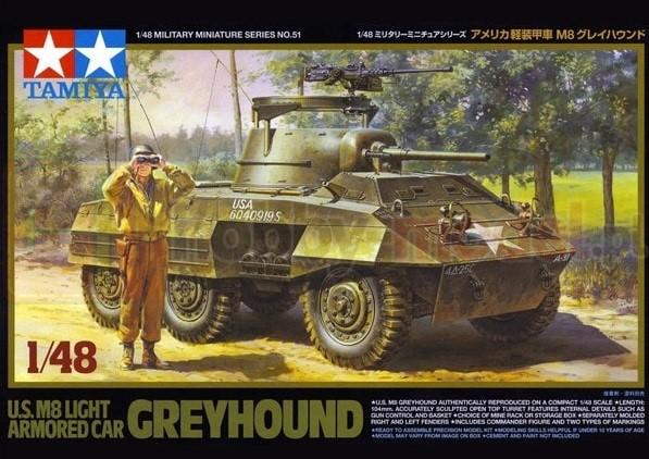 TAMIYA 32551 Pojazd opancerzony M8 Greyhound