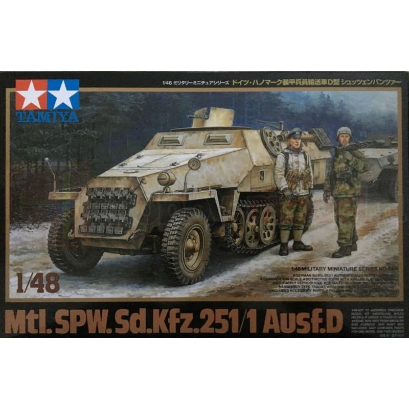 TAMIYA 32564 Opancerzony transporter gąsienicowy Sd.Kfz.251 Ausf. D