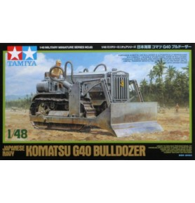 TAMIYA 32565 Buldożer gąsienicowy Komatsu G40 Bulldozer