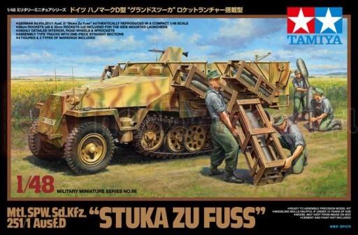 """TAMIYA 32566 Czołg niemiecki Sd.Kfz.251/1 Ausf.D """"Stuka zu Fuss"""""""