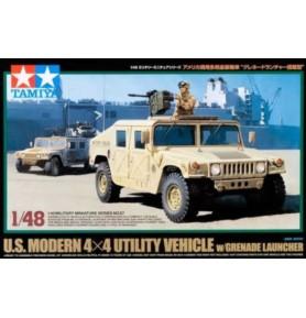 TAMIYA 32567 Pojazd wielozadaniowy U.S. Modern 4x4 Utility Vehicle z wyrzutnią granatów