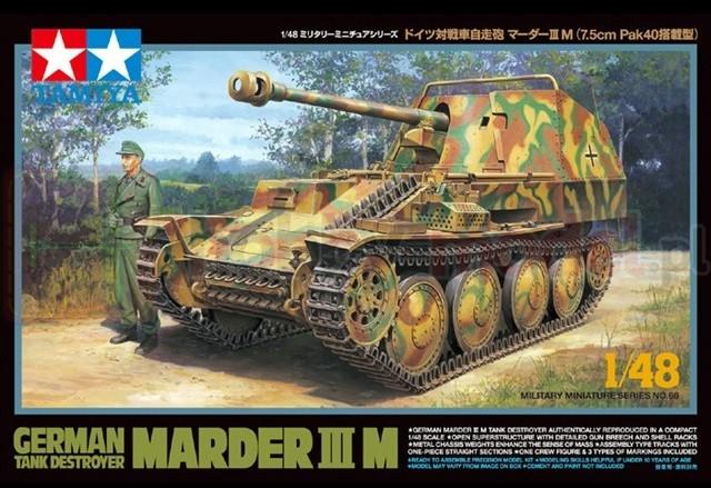 TAMIYA 32568 Niemiecki niszczyciel czołgów Sd.Kfz. 138 Marder III Ausf.M