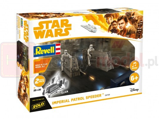 REVELL 06768 Star Wars Imperial Patrol Speeder (zestaw dla dzieci)