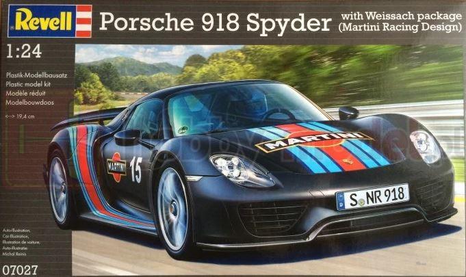 REVELL 07027 Samochód sportowy Porsche 918 Spyder Weissac