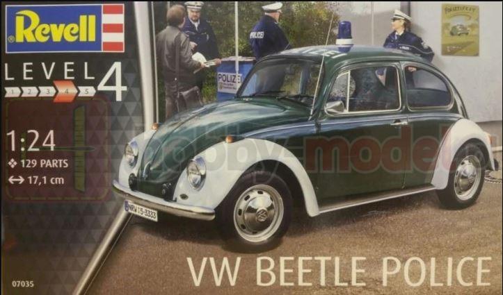 REVELL 07035 Samochód osobowy VW Beetle Police