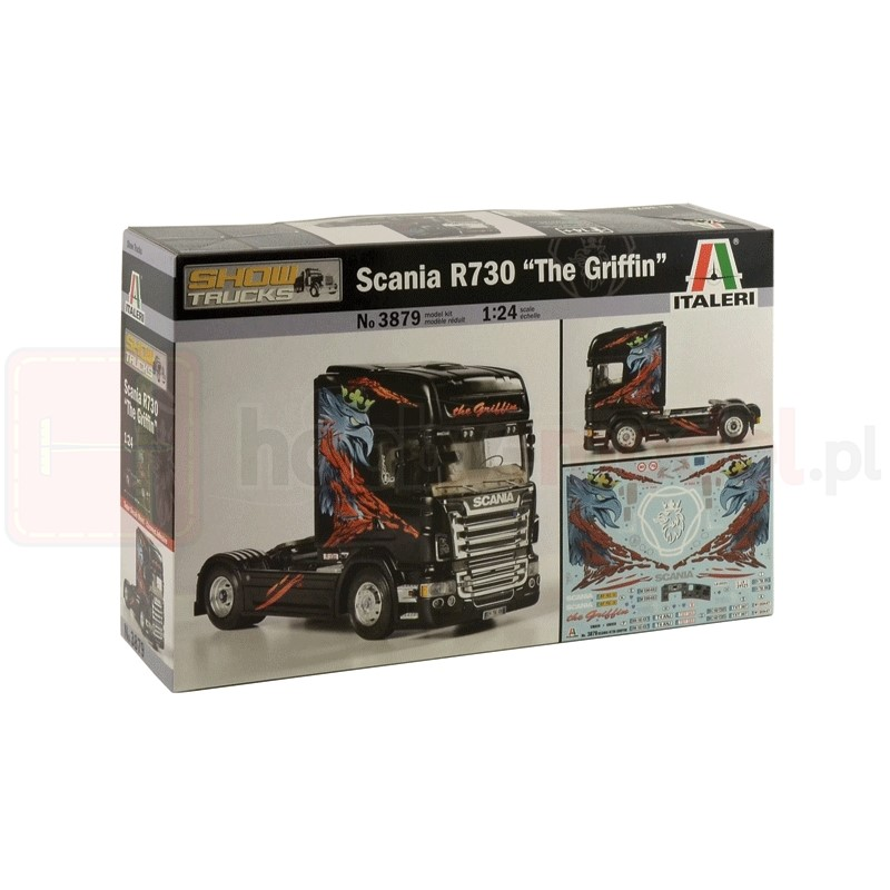 ITALERI 3879 Ciągnik Scania R730 ''The Griffin''