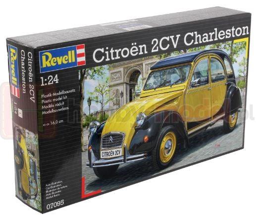 REVELL 07095 Samochód osobowy Citroen 2CV CHARLESTON