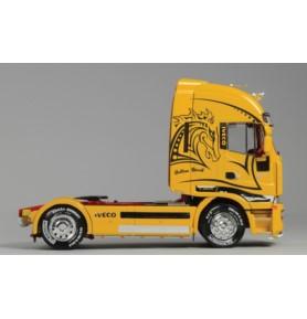 "ITALERI 3898 Ciągnik Iveco Stralis ""Yellow Devil"""