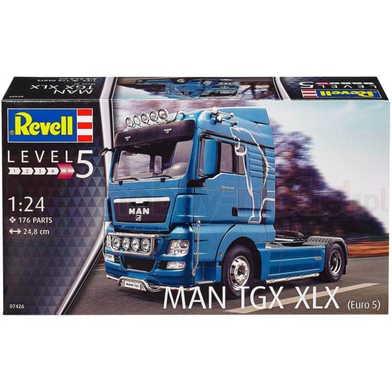 REVELL 07426 Ciągnik siodłowy MAN TGX XLX