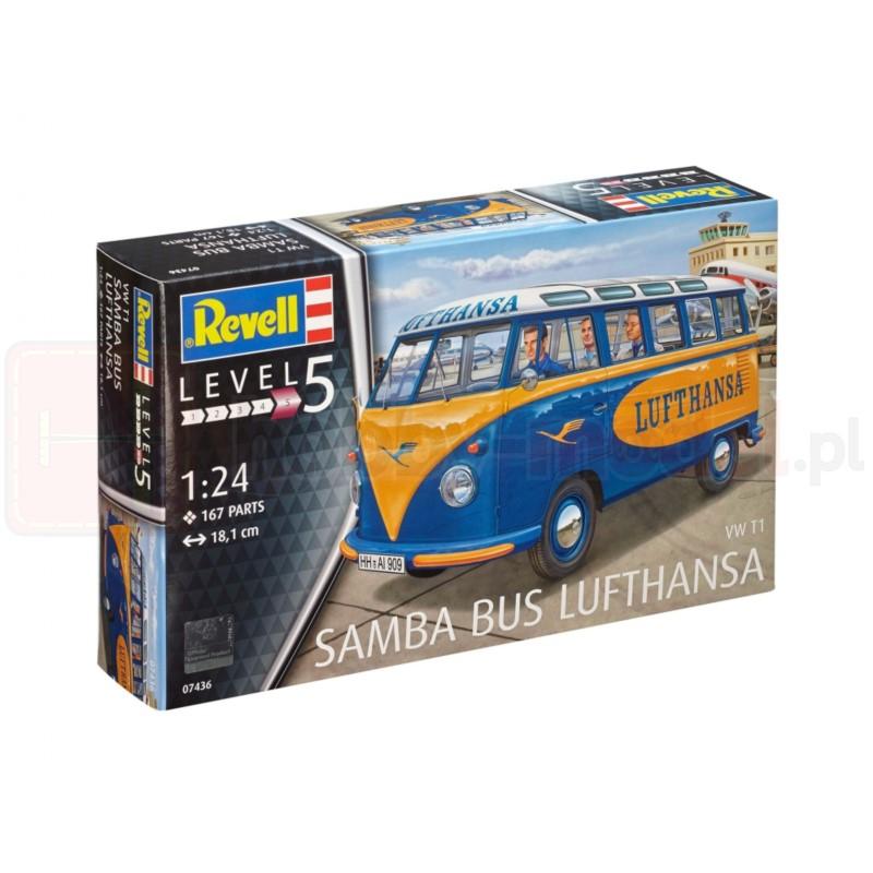 REVELL 07436 Samochód dostawczy VW T1 Samba Bus