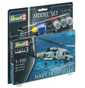 REVELL 64955 Śmigłowiec morski SH-60 Navy Helicopter (zestaw)